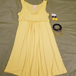 One Clothing Yellow Dress